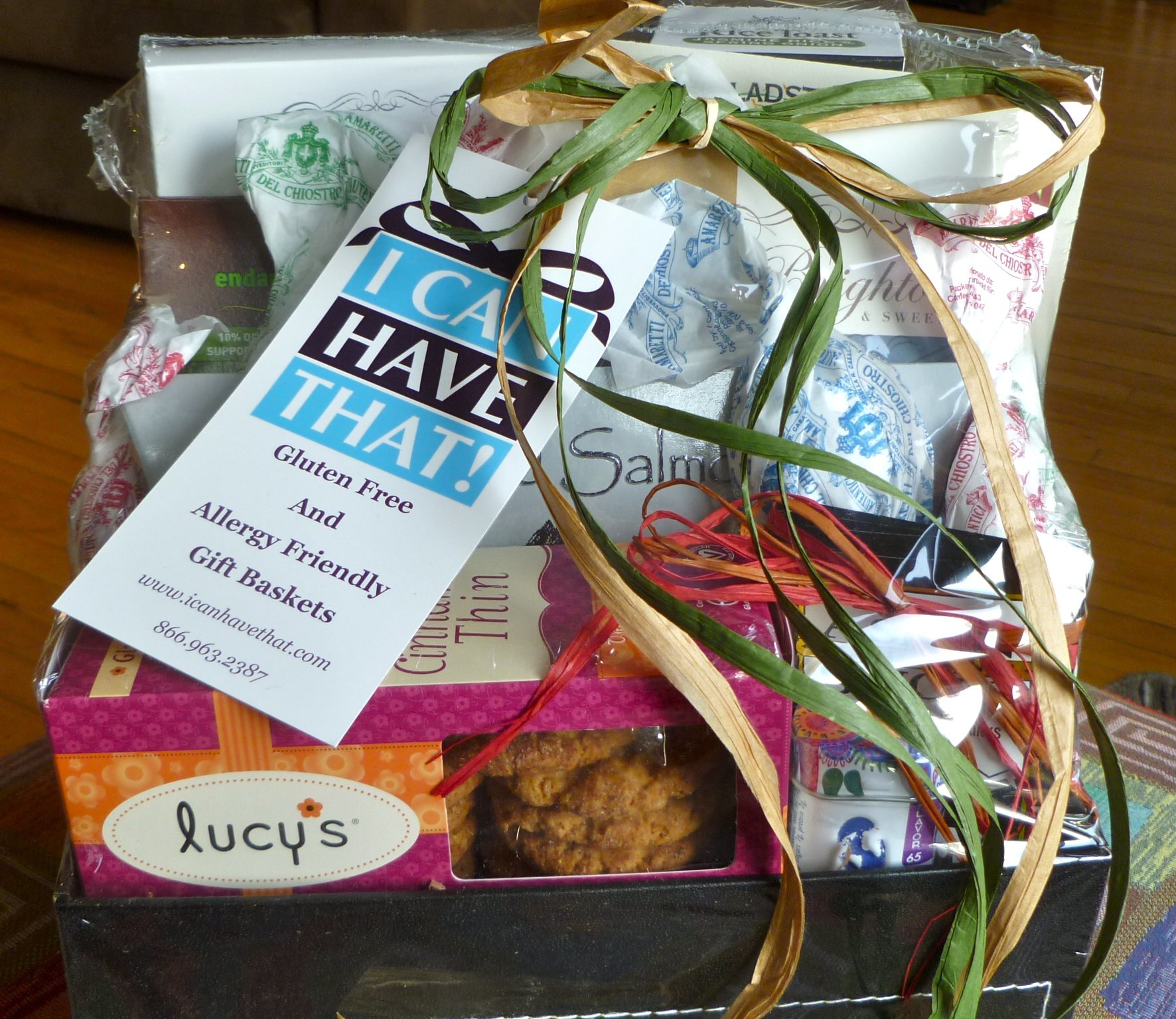 Gluten free gift ideas celiac in the city gluten free gift giving for the holidays i can have that gluten free and allergy friendly gift baskets negle Image collections