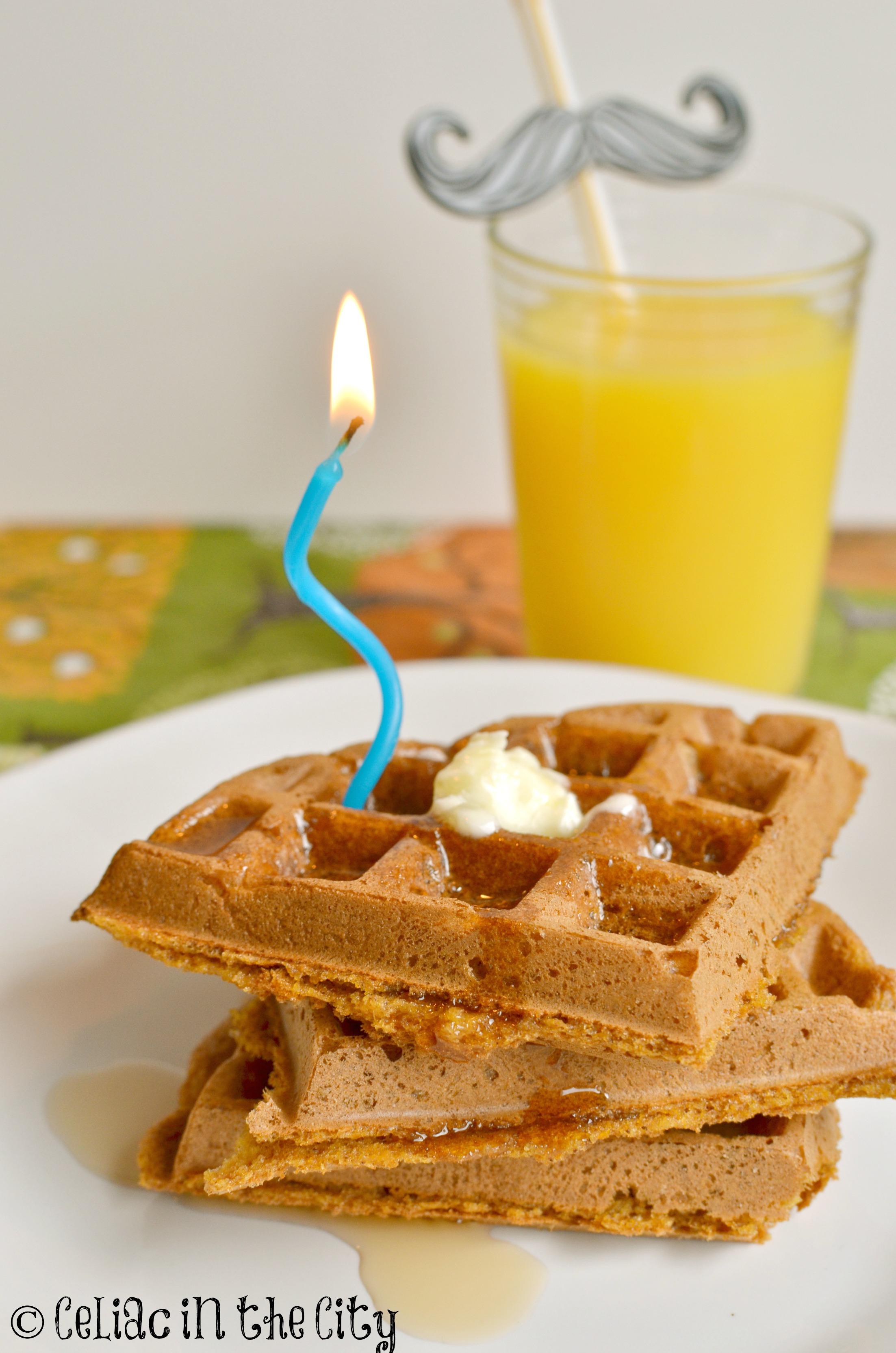 gluten free waffle recipe   Celiac in the City