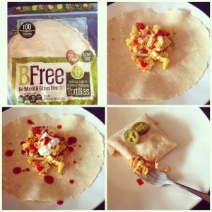 BFree gluten free wraps