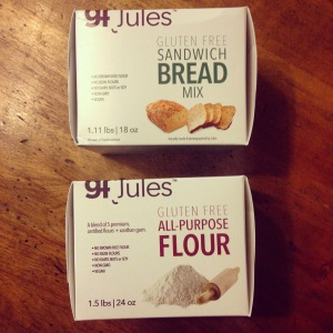 gfJules gluten free mixes
